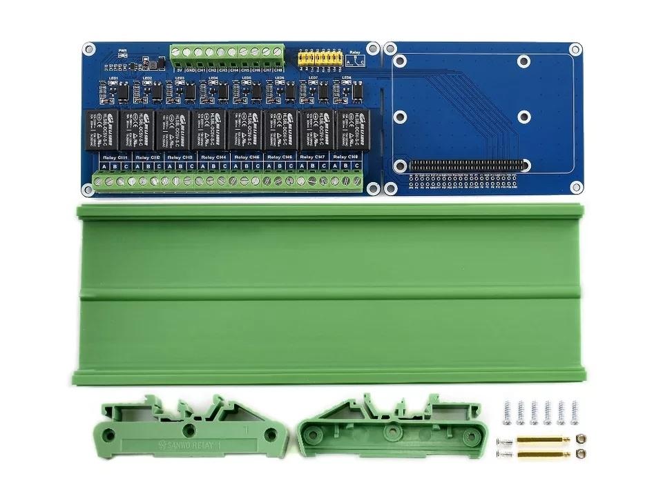 Комплект поставкиплаты расширения 8 канальный реле для Raspberry PI