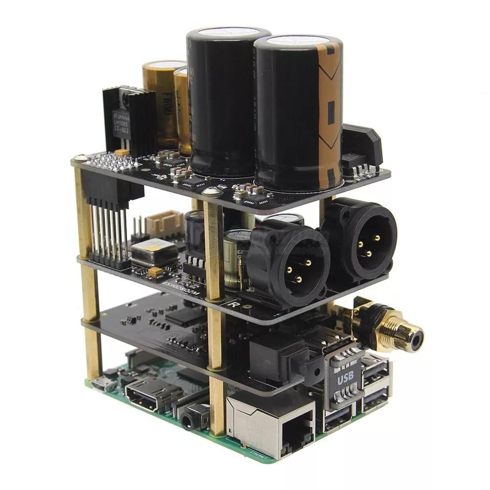 КупитьRaspberry Pi X20-XLR Hifi аудио комплект