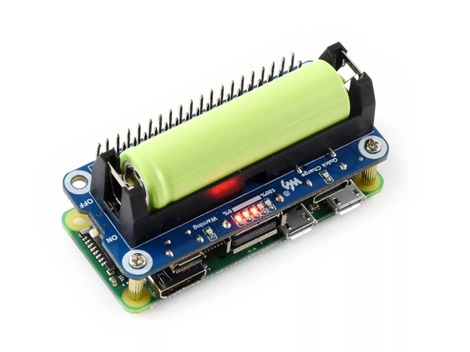 Обзор литий-ионного аккумулятора для Raspberry Pi