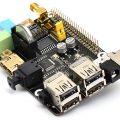 Плата расширения X200 с поддержкой VGA/RTC/GPIO/IR/WiFi для Raspberry Pi