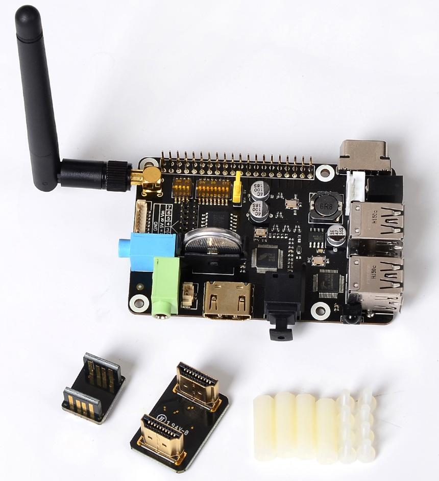 Купитьплату расширения X200 с поддержкой VGA/RTC/GPIO/IR/WiFi для Raspberry Pi