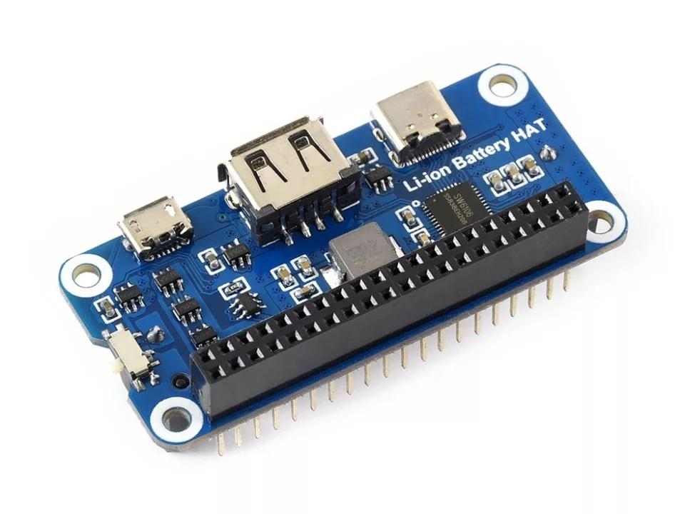Технические характеристикилитий-ионного аккумулятора для Raspberry Pi