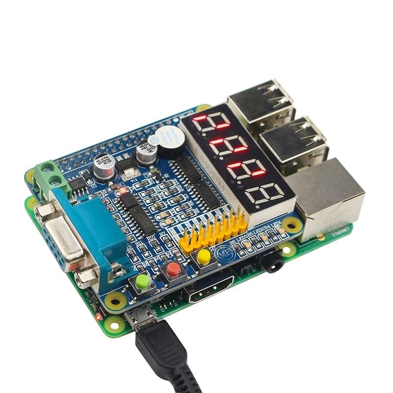 Описание платы расширения GPIO RS485 RS232 для raspberry pi