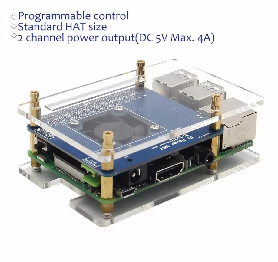 Комплект поставкиплаты расширения программируемого контроля температуры для raspberry pi