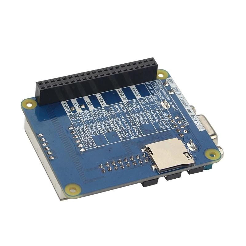 Обратная сторона платы расширения GPIO коды RS485 RS232 для raspberry pi