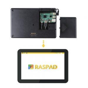 Raspad 10 дюймовый планшет с Raspberry Pi