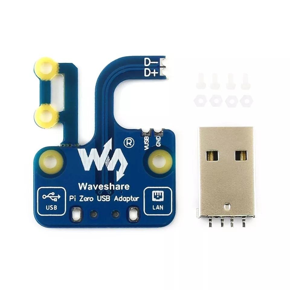 ОсобенностиUSB адаптер разъем для Raspberry Pi Zero/Zero W/Zero WH