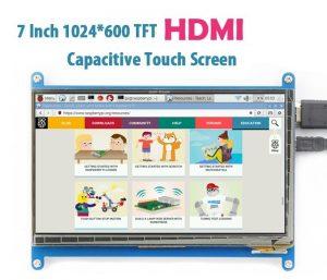 Cенсорный экран 7 дюймов 1024x600 HDMI TFT