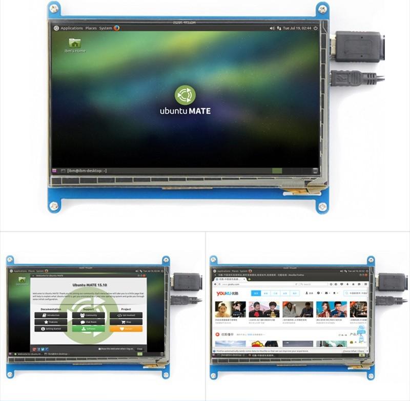 Особенности сенсорного экрана 7 дюймов 1024x600 HDMI TFT