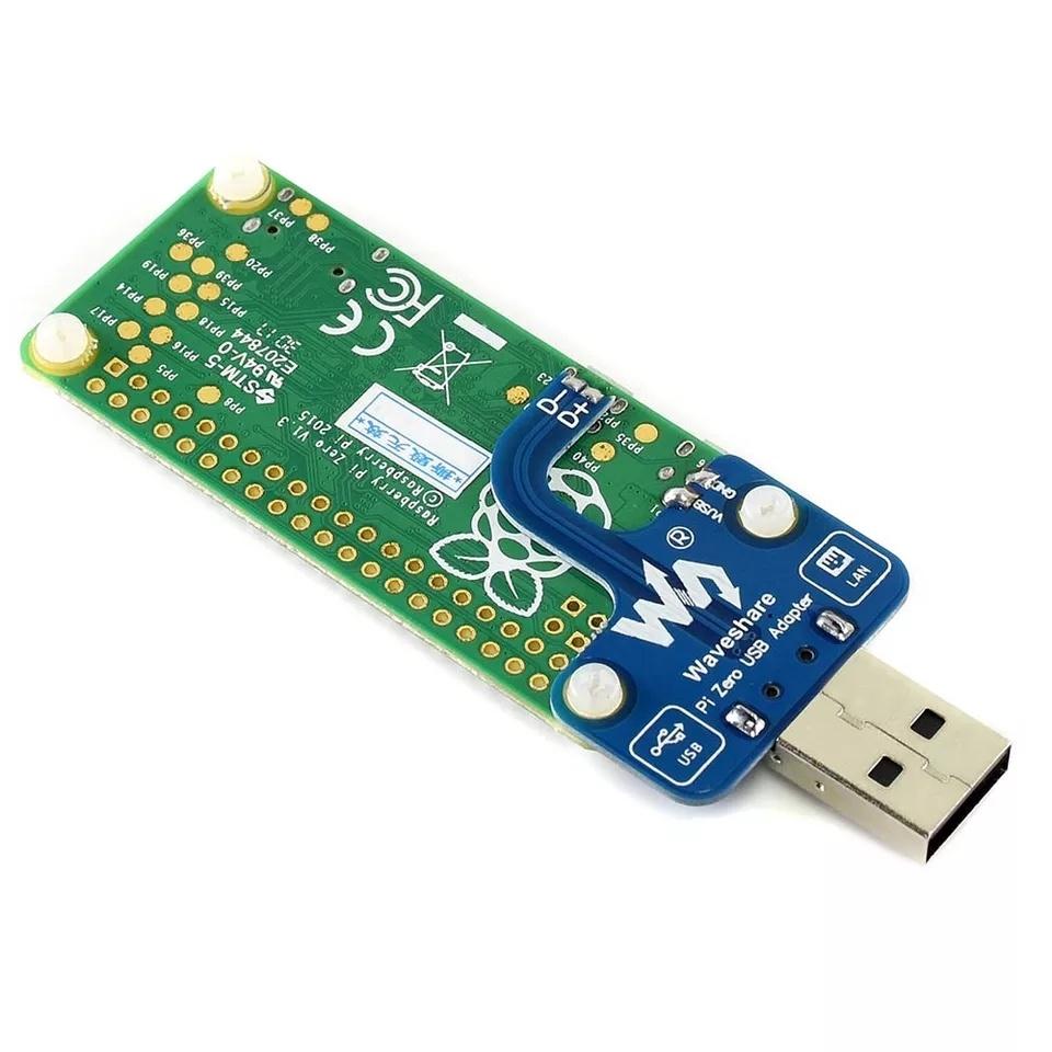 Описание USB адаптер разъем для Raspberry Pi Zero/Zero W/Zero WH