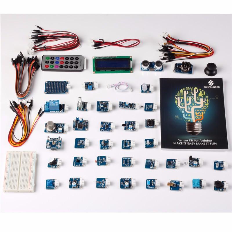 Описание комплекта из 37 сенсоров для Arduino