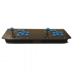 Комплект поставки аркадной ретро консоли для двух игроков на raspberry pi