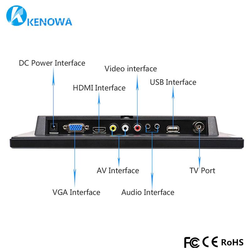 Тип интерфейса: bnc hdmi, разъем VGA, USB AV 12 V DC