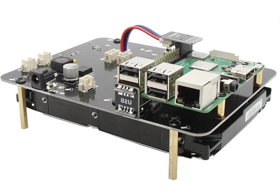 КупитьX830 плату расширения 3.5 HDD SATA для raspberry pi