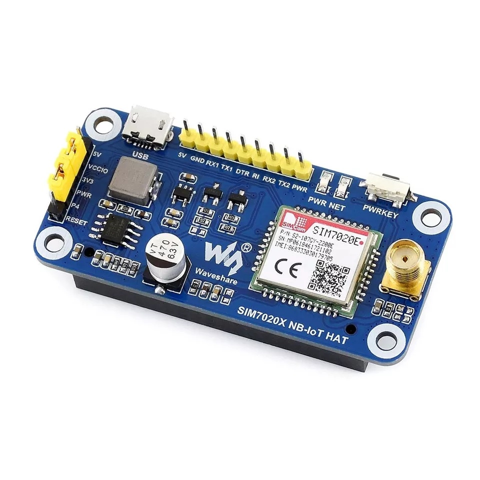 Характеристикиплаты расширения на SIM7020E 4G NB-IoT