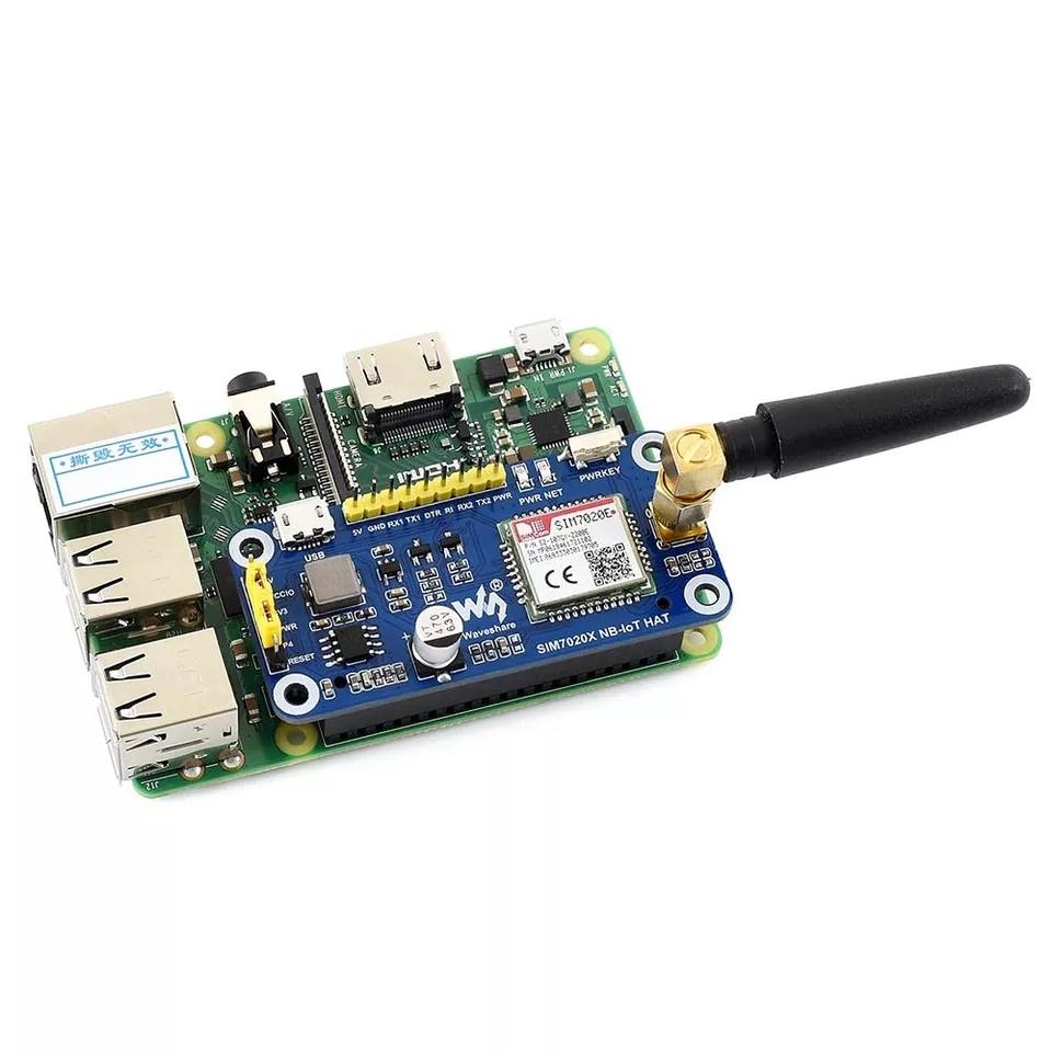 Комплект поставкиплаты расширения на SIM7020E 4G NB-IoT для raspberry pi