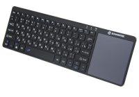 Zoweetek K12-1 беспроводная русская клавиатура с сенсорной панелью для Android Smart TV Box Ноутбук PC