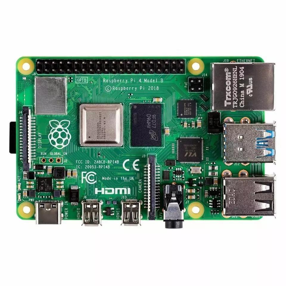 Raspberry Pi 4 Модель B 4 Гб Оперативная память LPDDR4 SD 1,5 ГГц 64-разрядный четырехъядерный процессор