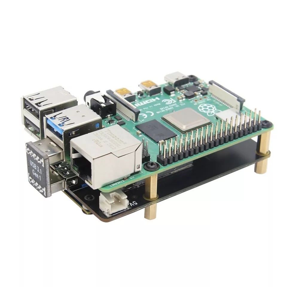 Обзор платы расширения X855 V1.3 mSATA SSD для Raspberry Pi 4B