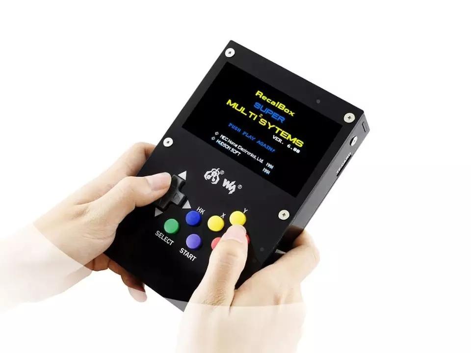 Описание GamePi43 ретро консоль на raspberry pi