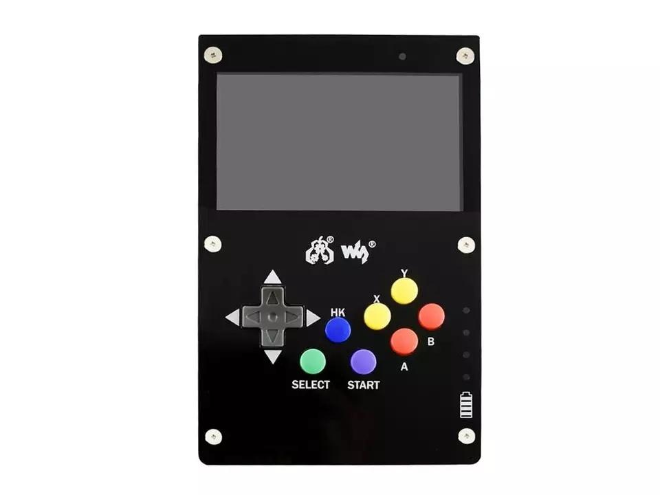 Внешний вид GamePi43 ретро консоли на raspberry pi