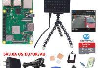 Комплект видеонаблюдения на Raspberry Pi 3 Model Plus