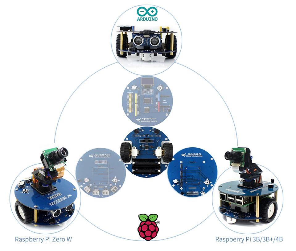 Универсальные шасси AlphaBot2