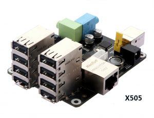 Многофункциональная плата расширения X505 для Raspberry Pi Модель A