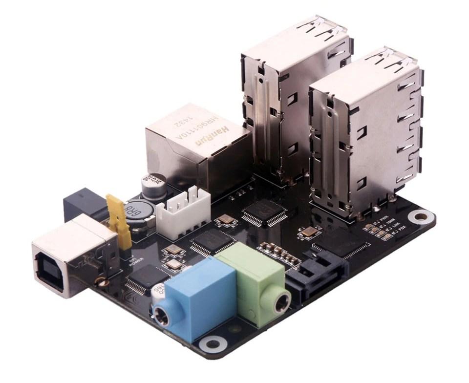 Особенности многофункциональной платы расширения X505 для Raspberry Pi Модель A