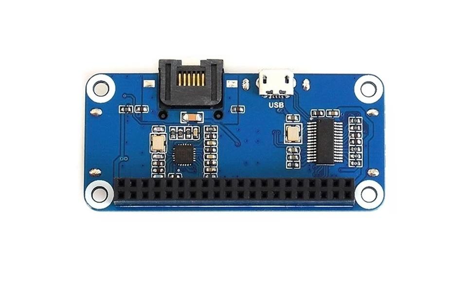 платы расширения Ethernet RJ45 и USB для Raspberry Zero W