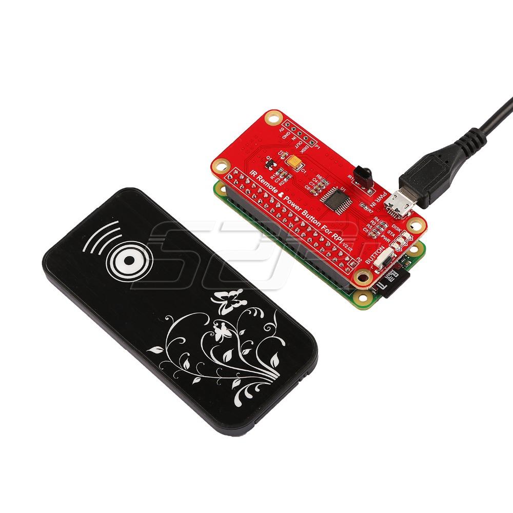 Комплект поставки ИК пульта дистанционного управления питанием Raspberry Pi