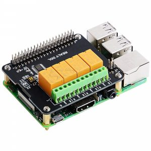Плата расширения с 4 каналами реле для Raspberry Pi