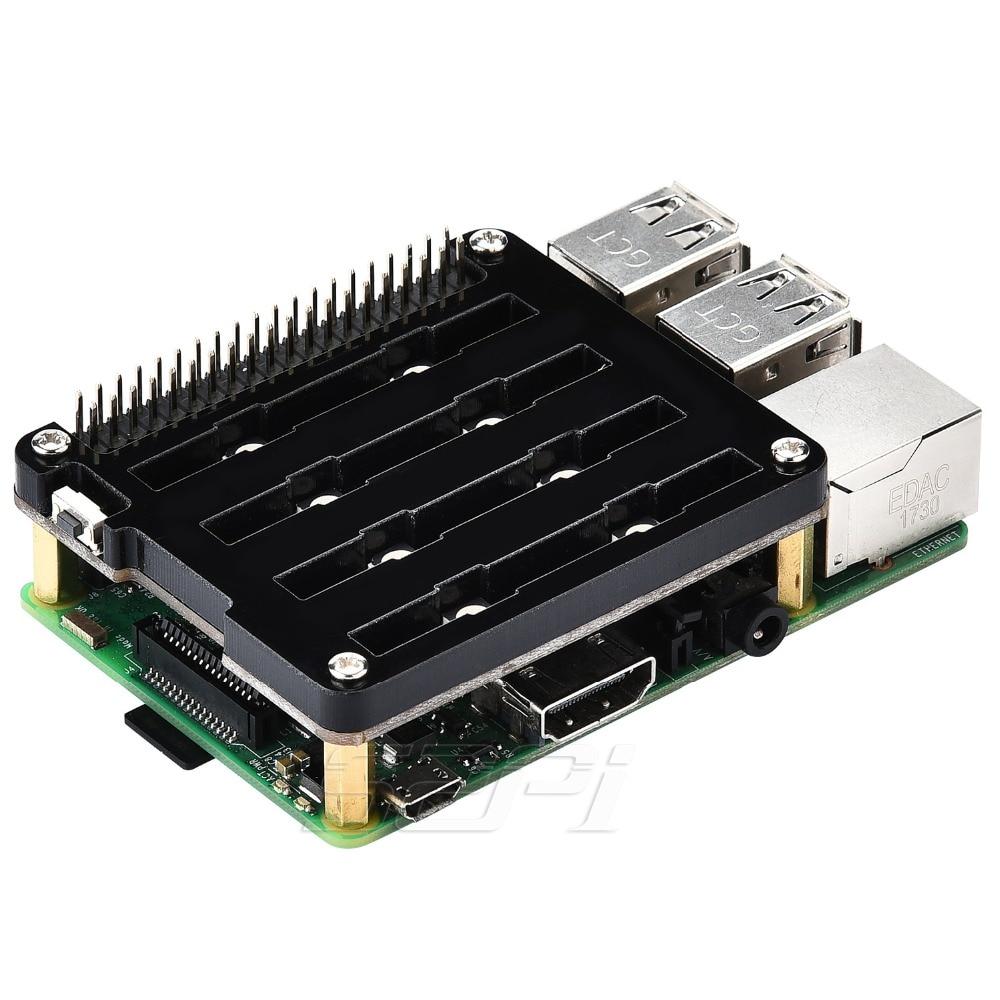 Особенностиплаты управления 8 светодиодами WS2812B для Raspberry Pi