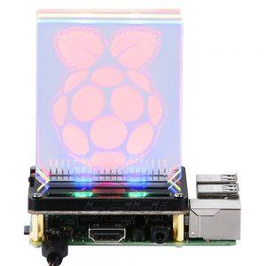 Плата управления 8 светодиодами WS2812B для Raspberry Pi