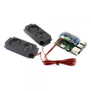 Звуковая плата WM8960 hi-fi для Raspberry Pi и Zero со стерео кодеком и функцией воспроизведение и запись