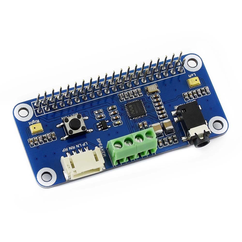 Описание звуковой платы WM8960 hi-fi для Raspberry Pi и Zero