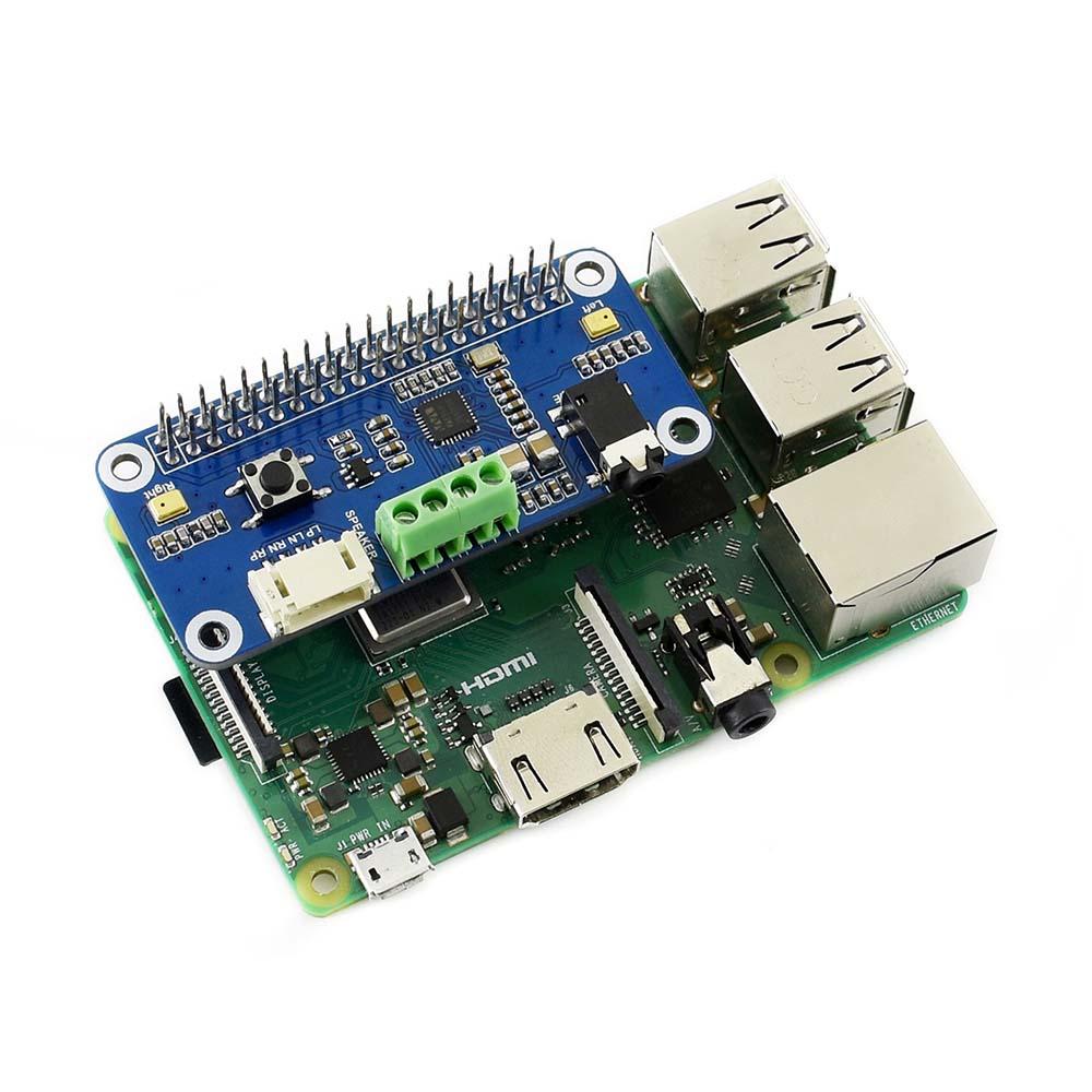 Купить звуковую плату WM8960 hi-fi для Raspberry Pi и Zero