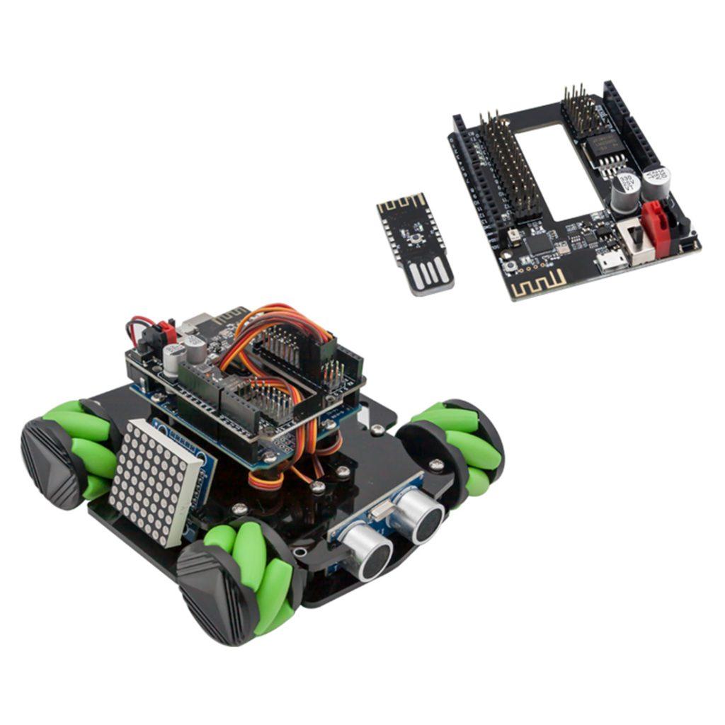 Купить набор с колесами Mecanum для Arduino UNO Set D