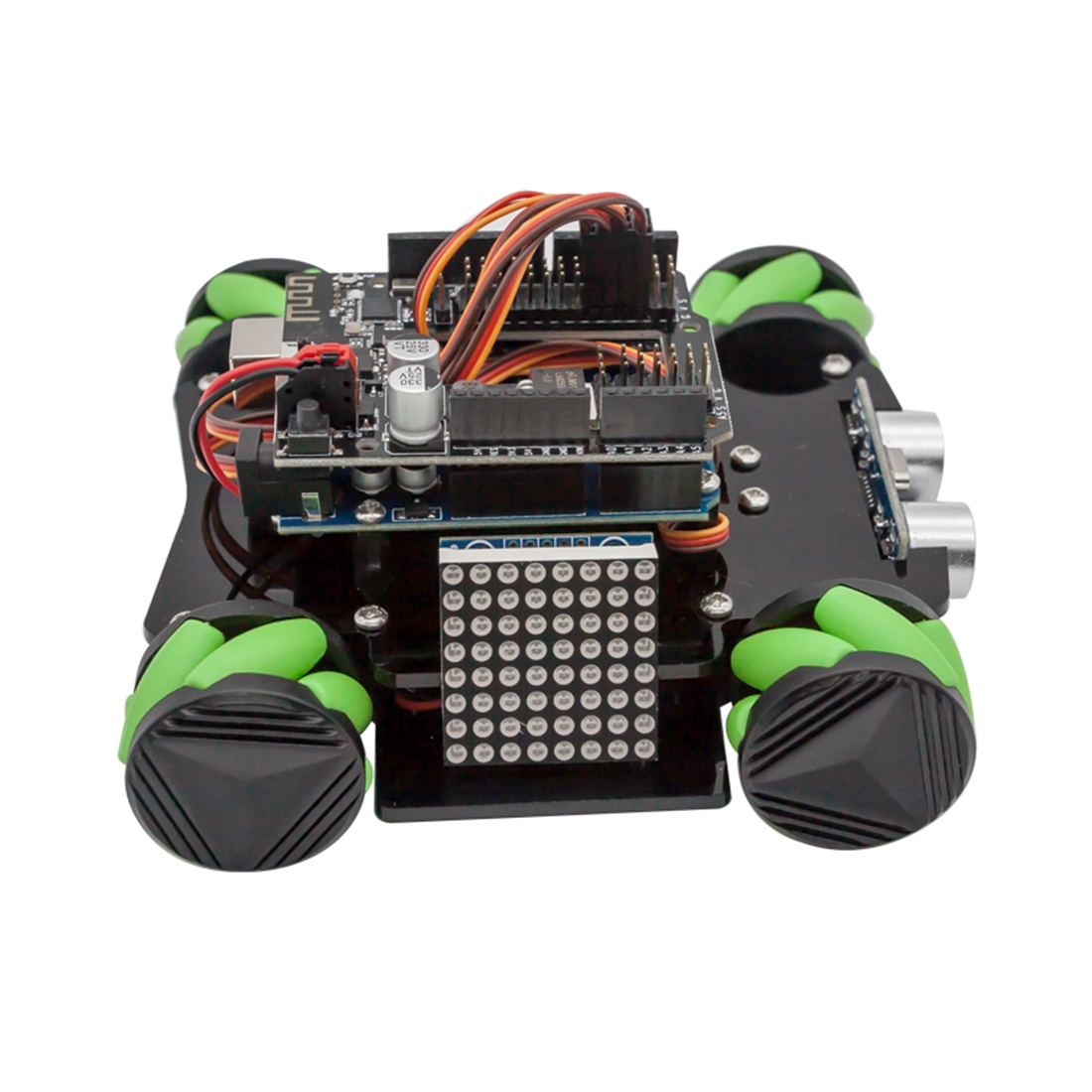 Характеристики набора с колесами Mecanum для Arduino UNO Set D