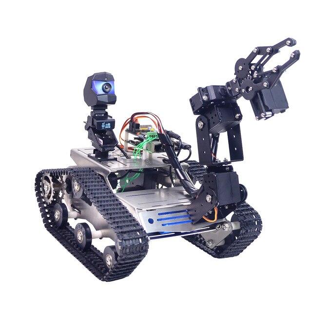 Купить комплект поставки WiFi танк робот Arduino mega
