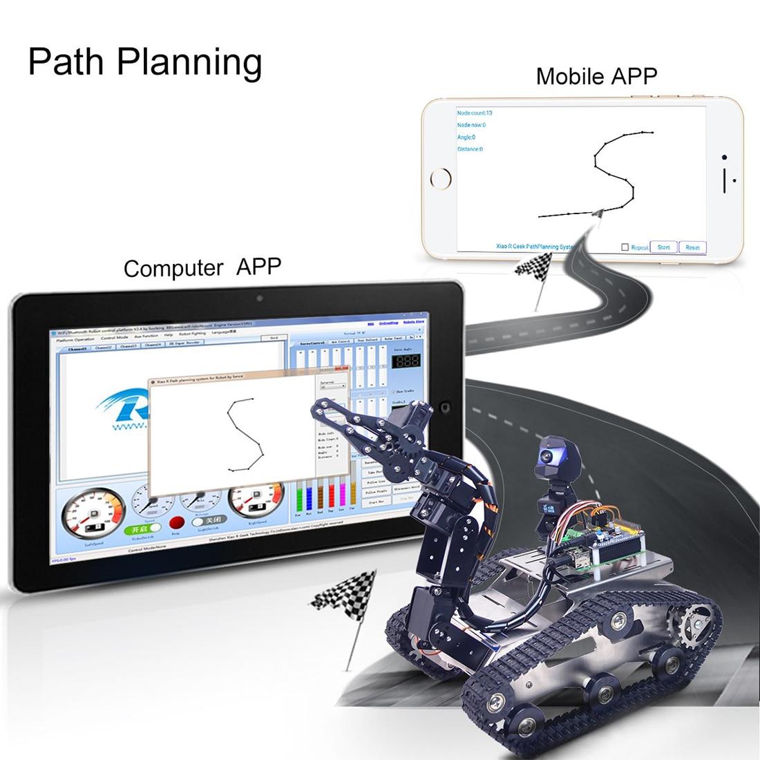 Комплект поставки WiFi танк робот Arduino mega