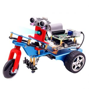 Трехколесный умный робот с HD камерой на Raspberry 4B