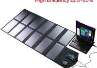 Портативное солнечное зарядное устройство 80Вт 18V для мобильных устройств