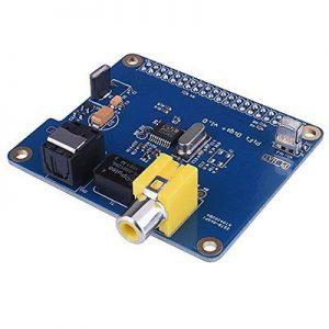 описание SC07 HIFI DiGi +Цифровая звуковая карта SPDIF I2S Оптическое Волокно для Raspberry pi
