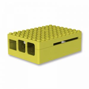 желтый ABS корпус (имитация Lego) для Raspberry Pi 3