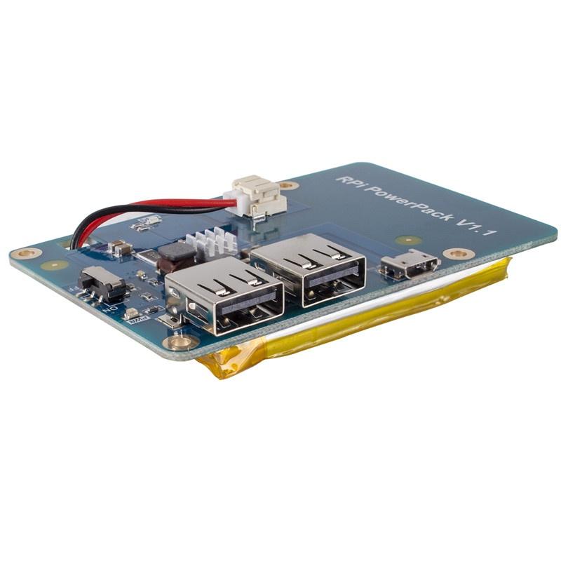 3800mAh 5V / 1.8A Литий-ионная батарея для Raspberry Pi 3