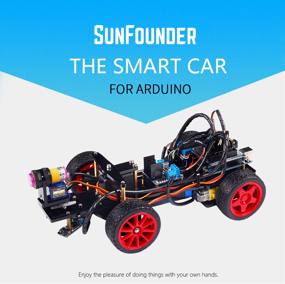Смарт авто робот на базе ардуино