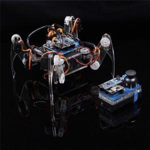 Купить DIY Умный робот паук с ардуино нано