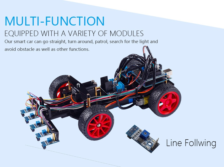 Smart Car Kit for Arduino