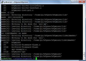 Как установить BFGMiner на raspberry pi 3